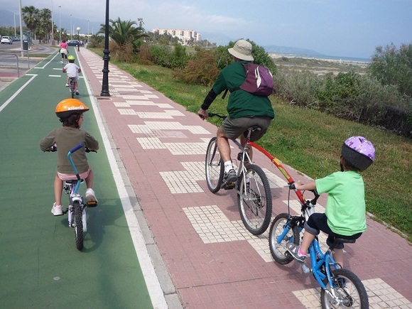 Carril bici en Benicassim